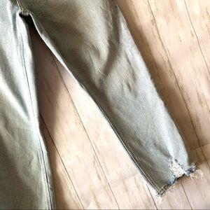 Current/Elliott Jeans - Current Elliott Light Wash Raw Hem Crop Jeans 30